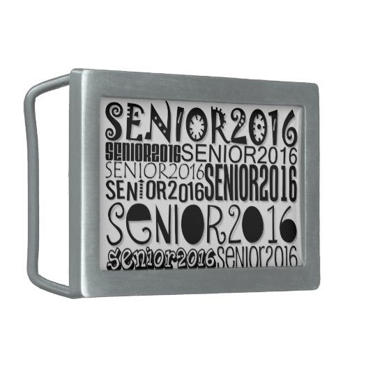 Senior 2016 - Belt Buckle