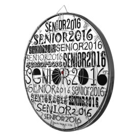 Senior 2016 Dart Board