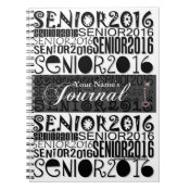 Senior 2016 - Journal Notebook