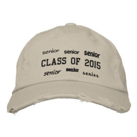 Senior Class of 2015 - Embroidered Hat