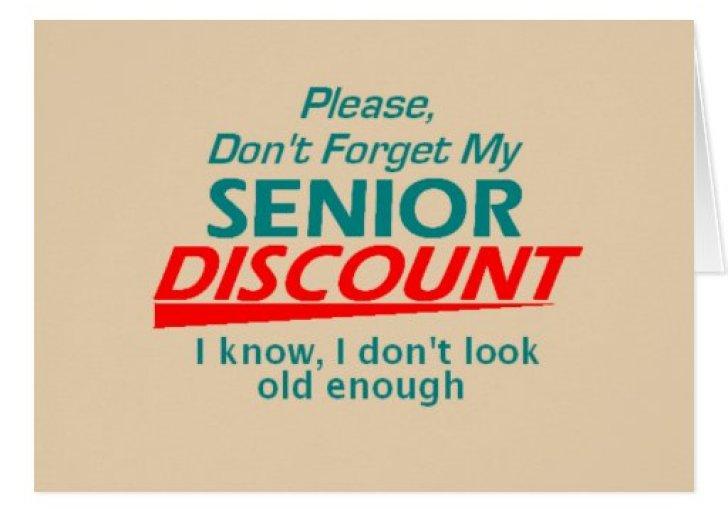 Gift Card Granny Blog Senior Discounts