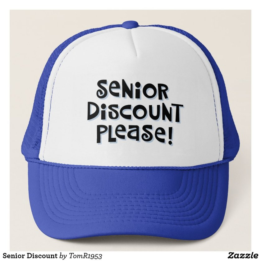 Senior Discount Trucker Hat