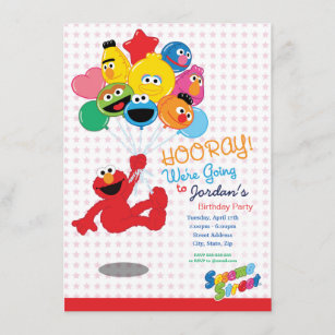 cookie monster invitations zazzle