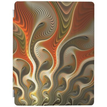 Set Phasers Orange and Gold Abstract iPad Smart Cover