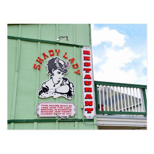 Shady Lady Restaurant