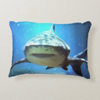 Great White Sharks Pillows - Decorative & Throw Pillows ...