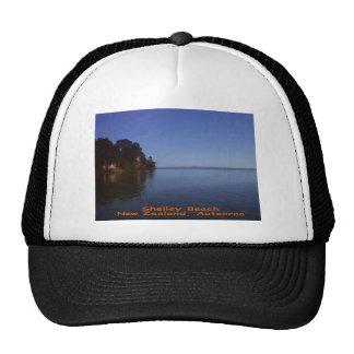 Shelley Beach, Kaipara, New Zealand, Aotearoa Mesh Hats