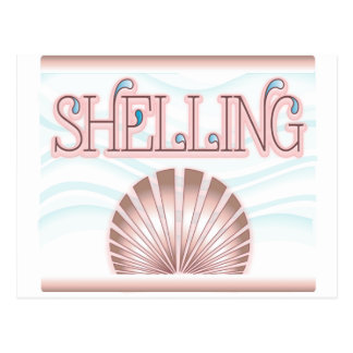 Shelling Postcard