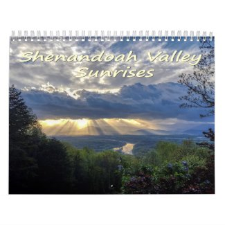 Shenandoah Valley Sunrises Calendar