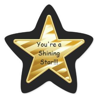 Shining Star Sticker