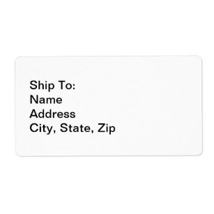 shipping labels create your