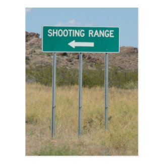 Shooting Range Postcards