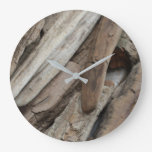 Shoreline Driftwood Large Clock