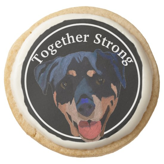 Shortbread Cookie Rottweiler Strong Confident