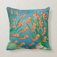 Shrimp Pillows - Decorative & Throw Pillows   Zazzle