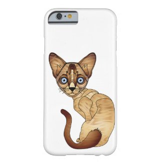 Siamese Cat iPhone 6/6s, Barely There Phone Case