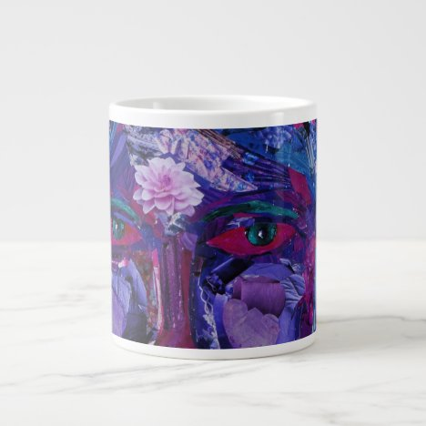 Sight – Magenta & Violet Inner Vision Large Coffee Mug