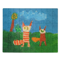 Silly Cats Jigsaw Puzzle