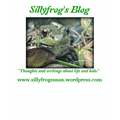 Sillyfrog's Blog shirt