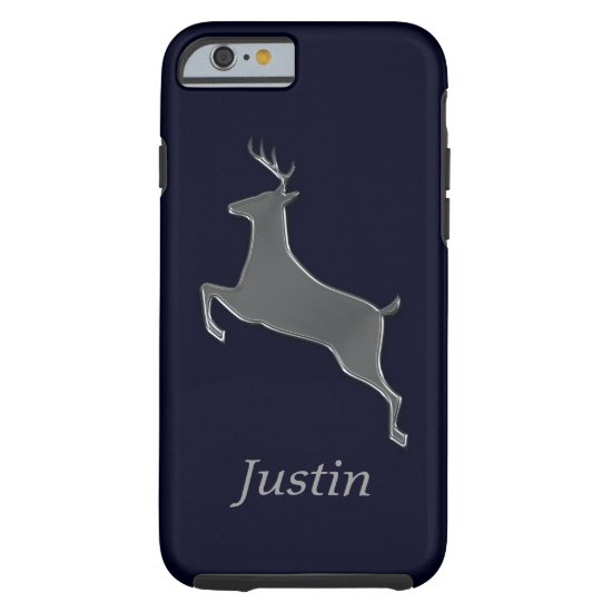 Silver Deer Personalized Tough iPhone 6 Case