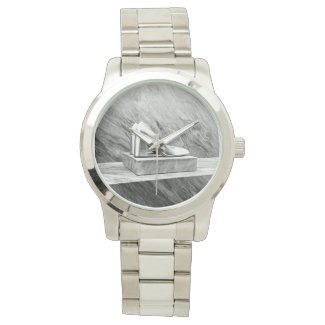 Silver Prada shoes 2015 Wristwatch