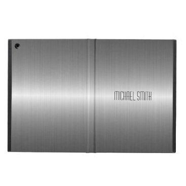 Silver Stainless Steel Metal iPad Air Case