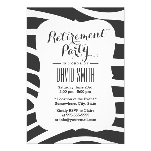 Personalized Office Party Invitations