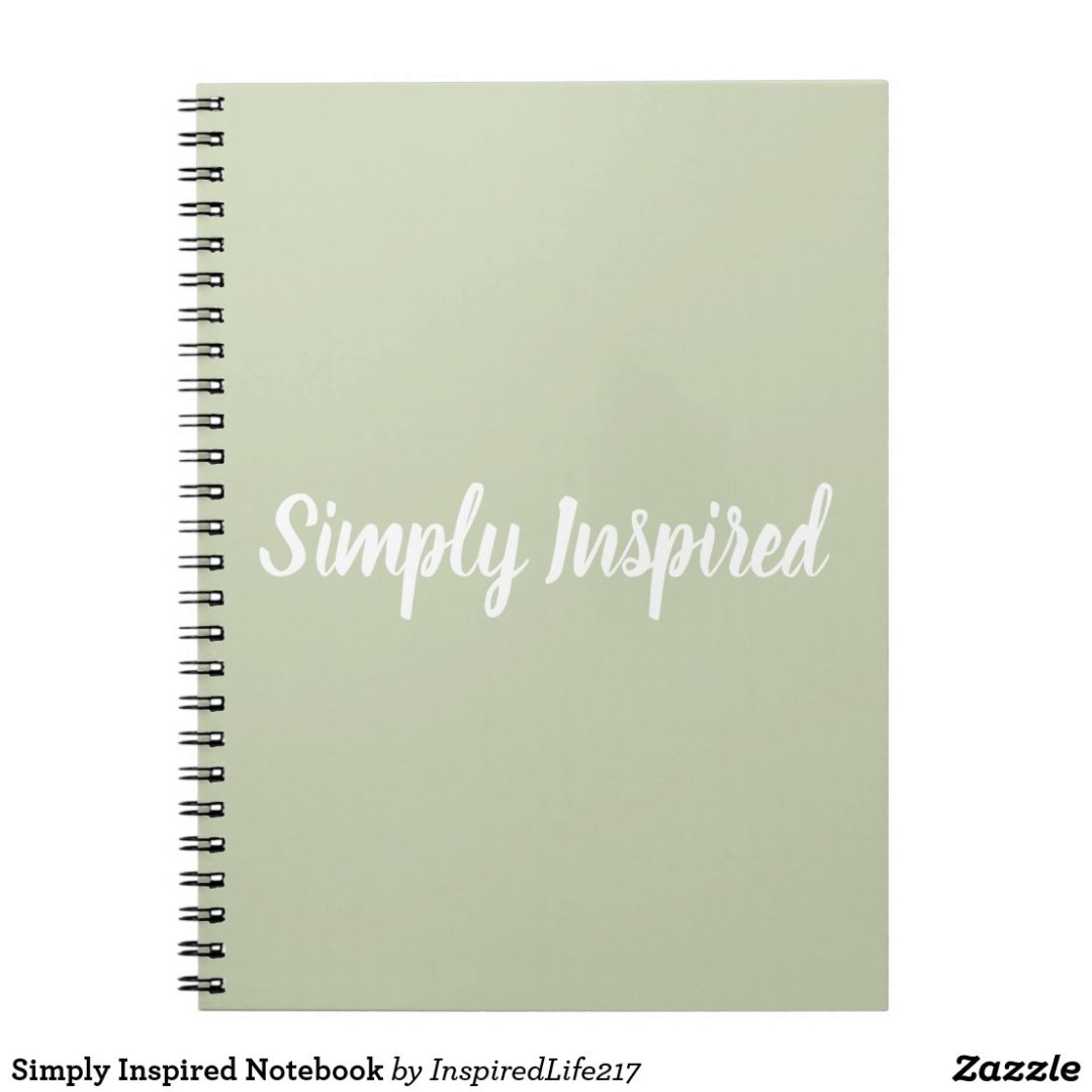 Simply Inspired Notebook