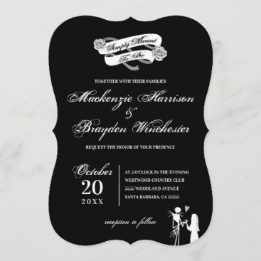 Simply Meant To Be - Wedding Invitation