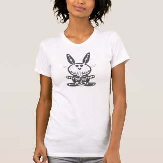 Skeleton Bunny T Shirt