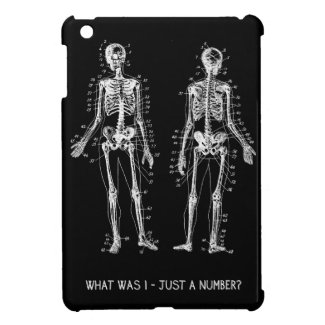 Skeleton Questions for Halloween iPad Mini Cover