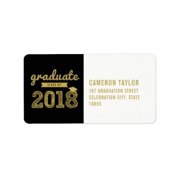 Sketch Class Of 2018 Graduation Address Labels