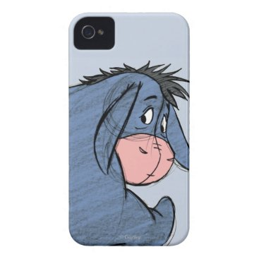 Sketch Eeyore 1 iPhone 4 Cover
