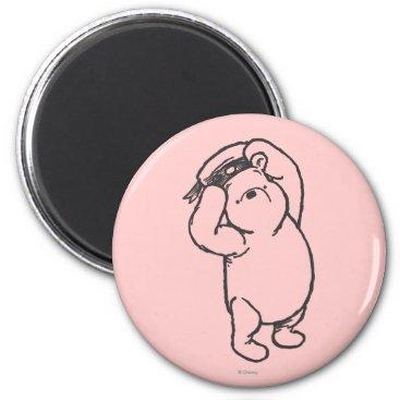 Sketch Winnie the Pooh 1 Magnet