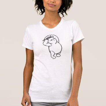 Sketch Winnie the Pooh 1 T-Shirt