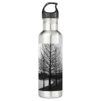 Skinny Trees 24oz Stainless Water Bottle