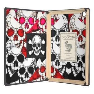 Skull and Bones Metal texture DODOcase Ipad Air