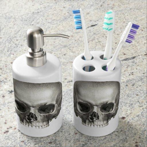 Skull Bathroom Set