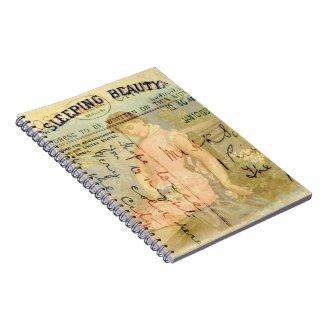 Sleeping Beauty Spiral Note Books