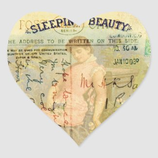 Sleeping Beauty Sticker