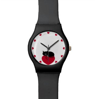 Black Cat Love Watch