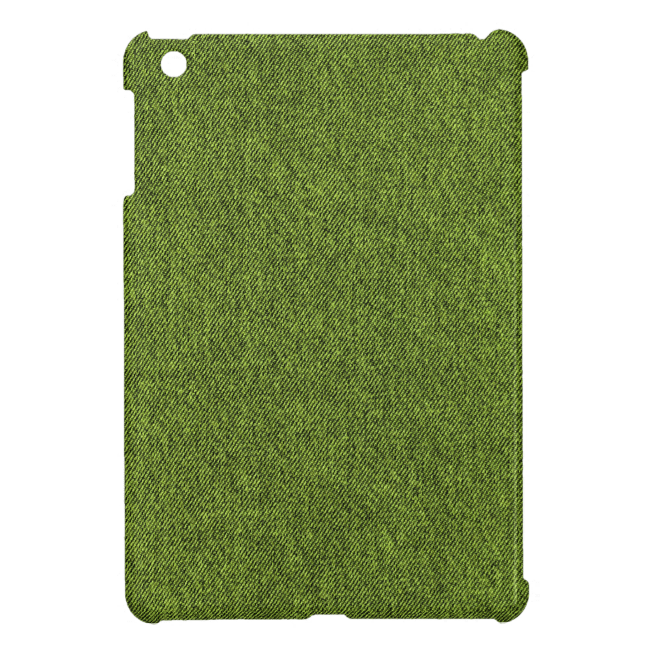 Slightly Rumpled Denim Case For The iPad Mini