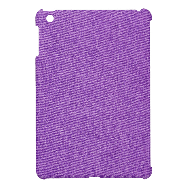 Slightly Rumpled Denim iPad Mini Cover