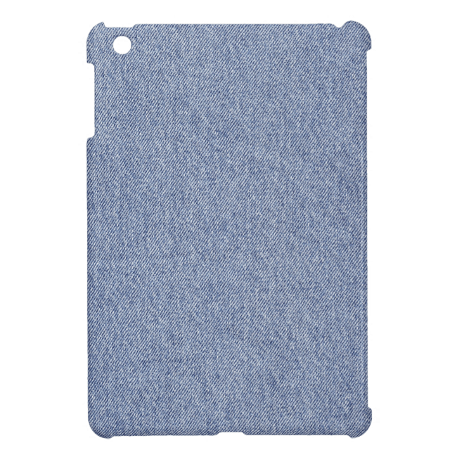 Slightly Rumpled Denim iPad Mini Covers