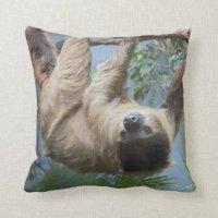 Cute Sloth Pillows - Decorative & Throw Pillows | Zazzle
