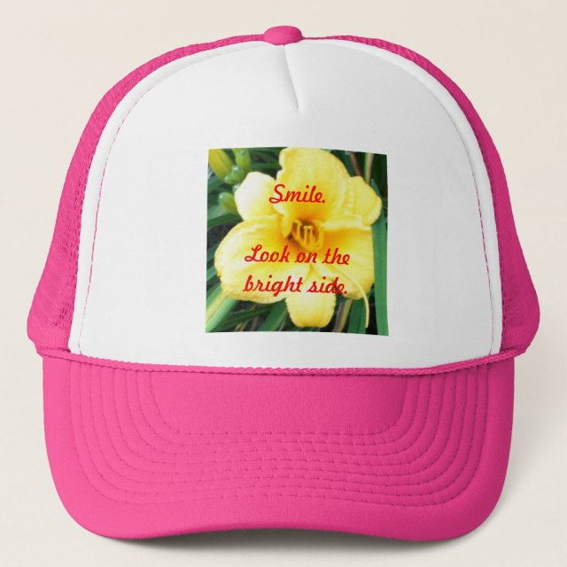 Smile. Look On The Bright Side Hats