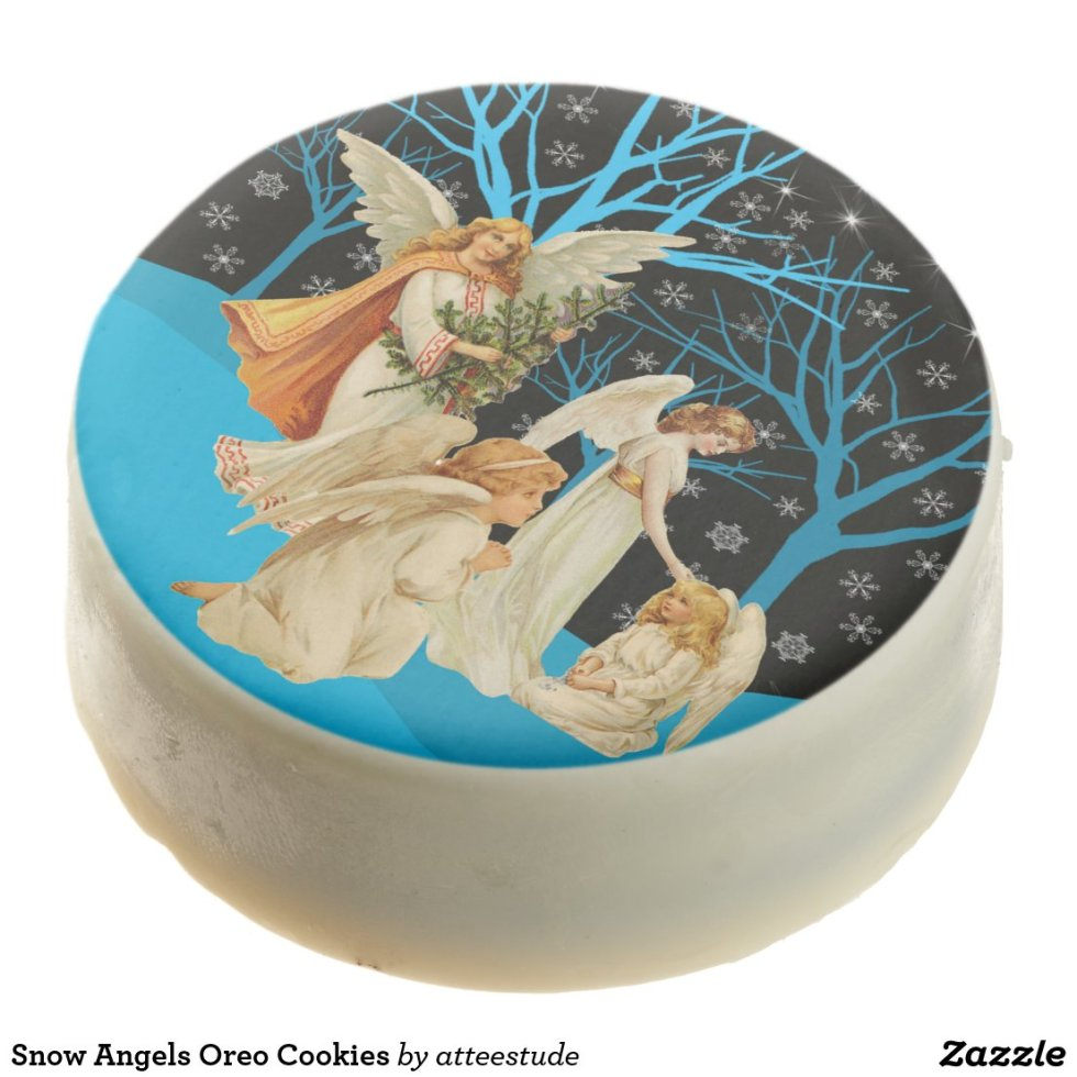 Snow Angels Oreo Cookies