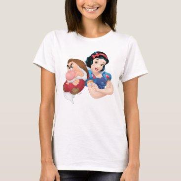 Snow White And Grumpy T-Shirt