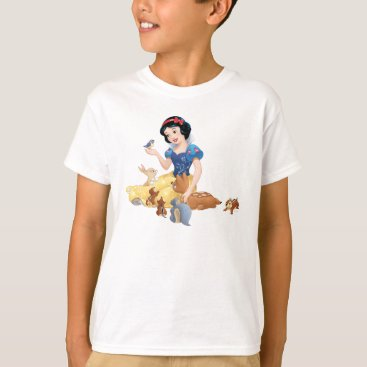 Snow White and the Forest Animals T-Shirt