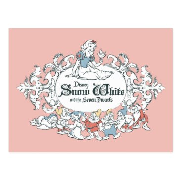 Snow White and the Seven Dwarfs | Fairest of All Postcard